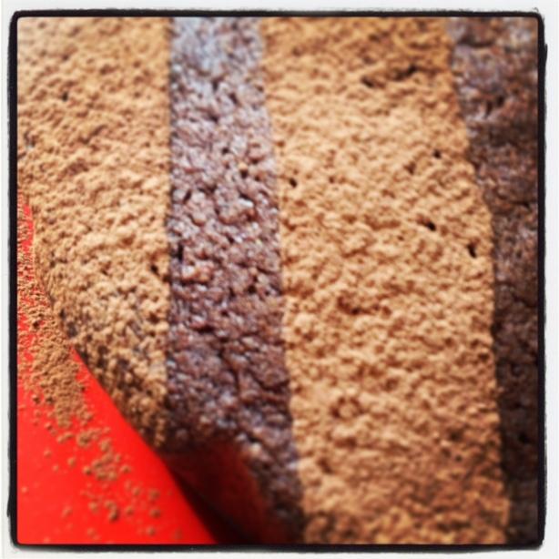 Chocolate & coconut cake!