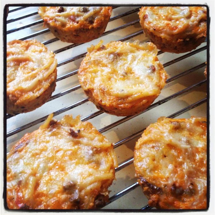 Spag bog muffins!