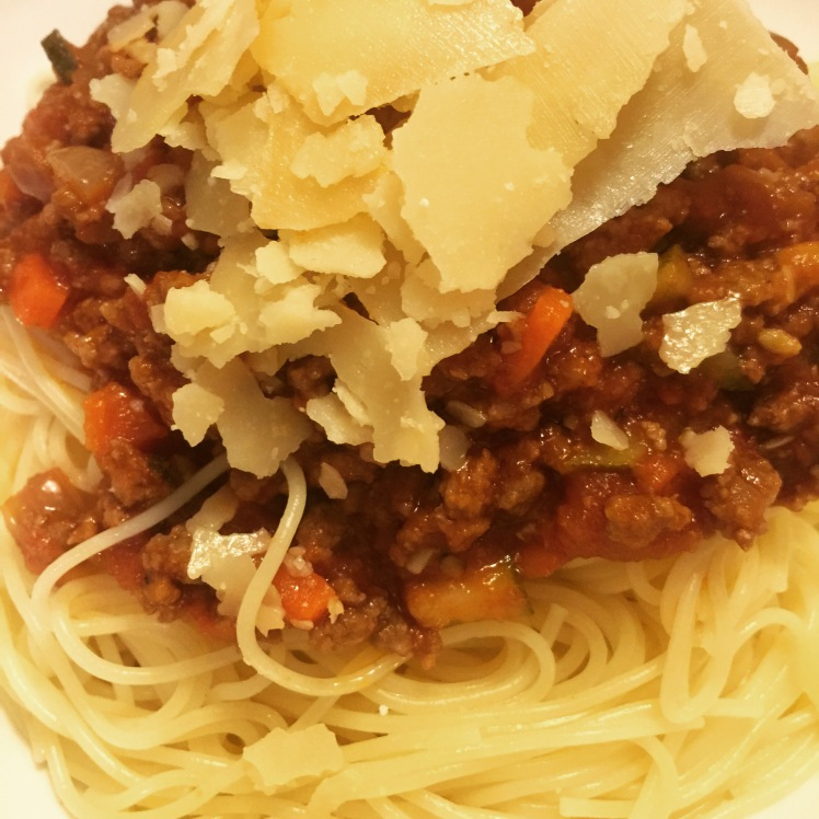 Spaghetti bolognese!